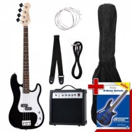 Rocktile Groovers Pack PB E-Bass Set BK