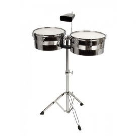 "XDrum Timbales Set 13"" 14"" incl. cowbell"