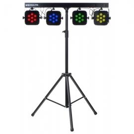 Showlite LB-4 Tri-LED Bar - Set de lumini