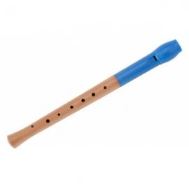 Classic Cantabile Pivella Blockflöte Blau