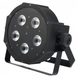 Showlite FLP-5x9W LED spotlight RGB
