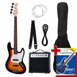 Rocktile Groovers Pack JB E-Bass Set