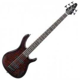 Rocktile Pro R5-FB E-Bass 5-saitig Flamed Blaze