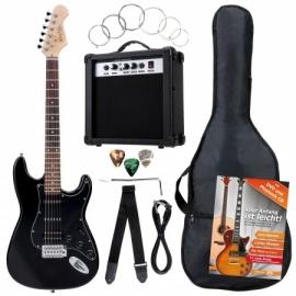 Rocktile Banger's Power Pack E-Gitarren Set Black