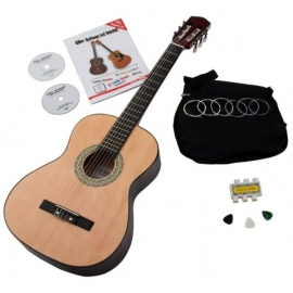 Classic Cantabile Acoustic Series AS-851 4/4 classical guitar starter set