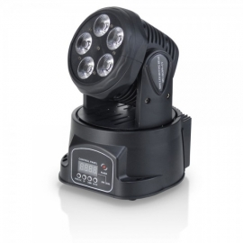 FLASH LED MOVING HEAD 5X15W 5in1 RGBW+UV