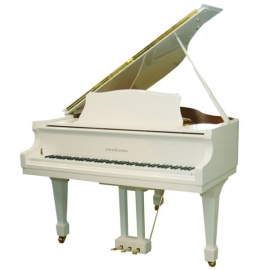 Roth & Junius GP149 Grand Piano Alb