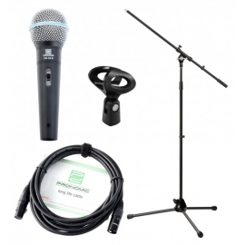 Pronomic DM-58-B Vocal Microphone Set