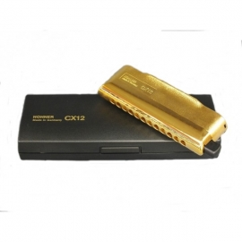 Hohner CX12 Chromatic Gold