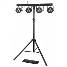 Showlite LB-4390 LED RGB 4 x 3 x 9Watt RGB