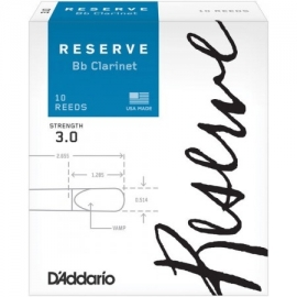 D'Addario Bb Woodwinds Reserve Clarinet 3,0