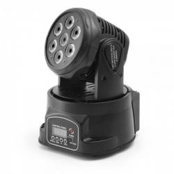 FLASH LED MOVING HEAD 7x10W RGBW 4 in 1