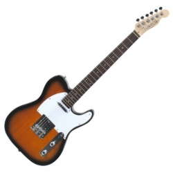 Rocktile Pro TL100-SB Electric Guitar 2 Shade Sunburst