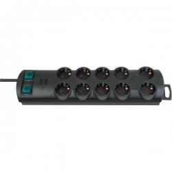 Brennenstuhl Primera-Line extension socket 10-way black 2m