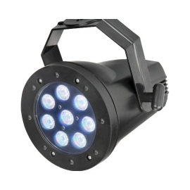 HED LIGHTING LED PAR 36 3WX8 RGB (3-IN-1)