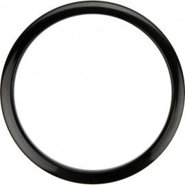 "Bass Drum O's 6"" Black round HBL6"