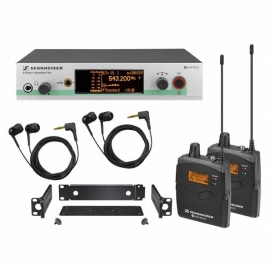 Sennheiser EW 300-2 IEM G3 Dual / A Band
