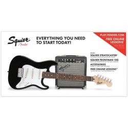 SQUIER STRATOCASTER SHORT SCALE CU AMPLIFICATOR FENDER 10G - 10 W