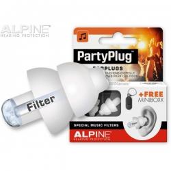 ALPINE MUSIC SAFE PARTYPLUG WHITE