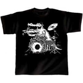 Rock You T-Shirt Kroko-Power Size: M