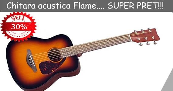 Chitara acustica Flame