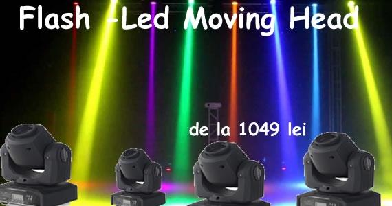 Flash led Moving Head