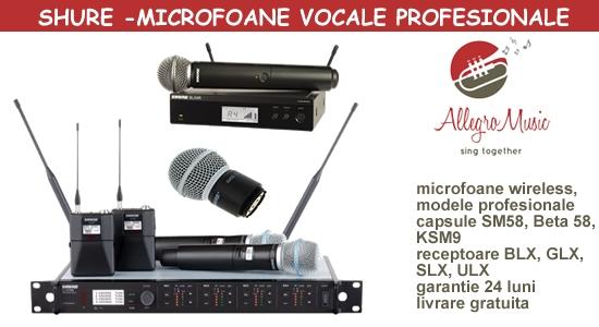 Mcrofoane wireless Shure