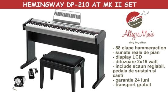 Set pian difital Hemingway DP-210 AT MKII