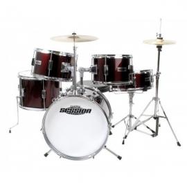XDrum Junior Pro Kids Drum Set Red