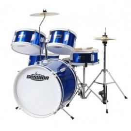 XDrum Junior Kids Drum Set Blue