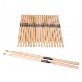 XDrum 5B Wood tip drum sticks, 10 pairs