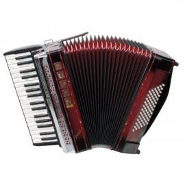 Zupan Juwel III 72 /M accordion, shadow red