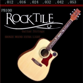 Rocktile Light Acoustic Guitar Strings 10-Pack