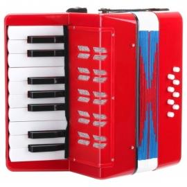 Classic Cantabile Bambino children's accordion, red