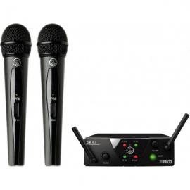 Akg WMS 40 Mini Dual VOCAL SET