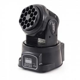 FLASH LED MOVING HEAD MINI BEAM 18x3W RGB CREE