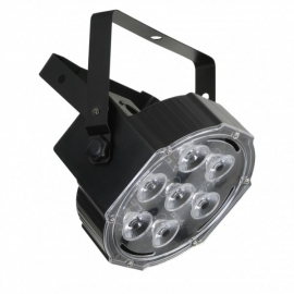 Flash LED PAR 56 Slim 7x10W RGBW 4in1 Aura STRONG