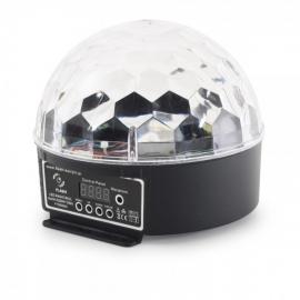 Flash LED MAGIC BALL 6x3W RGBWY DMX