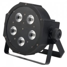 Showlite FLP-5x8W flatline panel LED spotlight RGB