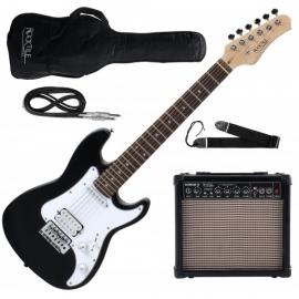 Rocktile Sphere Junior Electric Guitar 3/4 Black SET