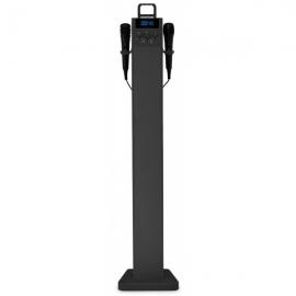 Beatfoxx SkyTower 2.0 Bluetooth Sound Tower Karaoke system, black