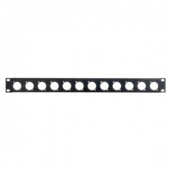 Adam Hall 872215 U-shaped Rack Panel 1U