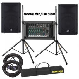 Yamaha EMX2 / CBR 15 Set