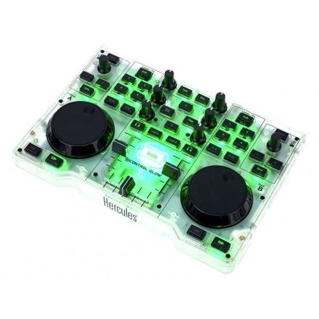 Hercules DJ Control Glow Green