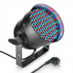 CAMEO PAR-56 151 X 5 MM LED RGB BK