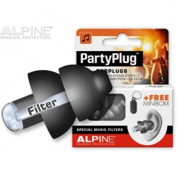 ALPINE MUSIC SAFE PARTY PLUG BLACK