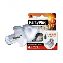 ALPINE MUSIC SAFE PARTY PLUG TRANSPARENT