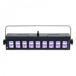 STAIRVILLE WILD WASH 9X3W LED UV BK DMX