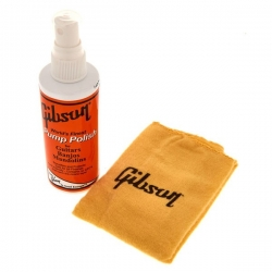 GIBSON PUMP POLISH & CLOTH COMBO