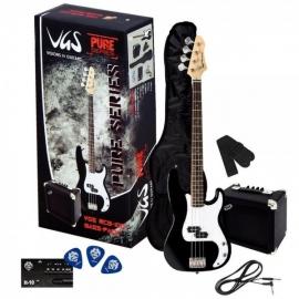 GEWApure VGS RCB 100 Black Set Chitara Bass
